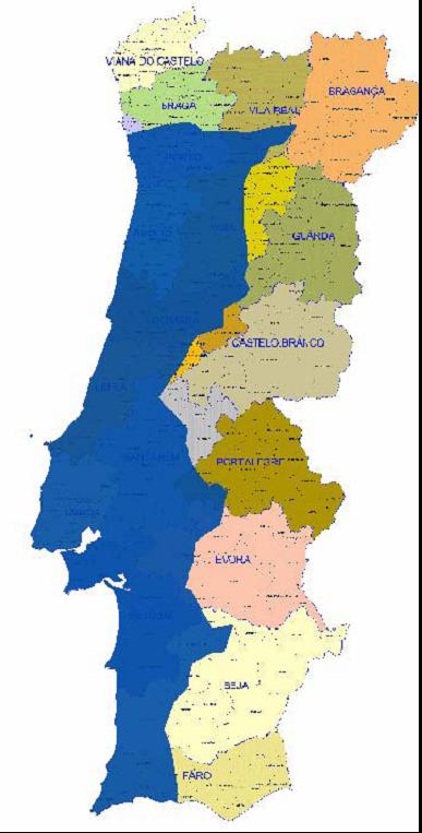 mapa de portugal litoral Equívocos da TDT: o apagão no litoral que não será apagão  mapa de portugal litoral